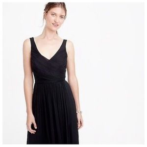 J Crew Bridal, Newport navy, Heidi long dress, 10.